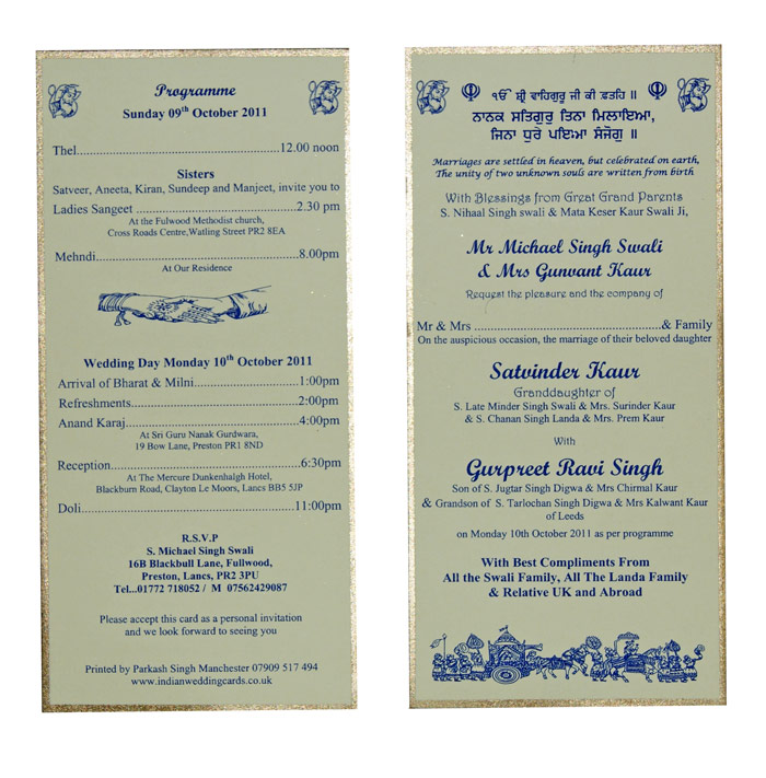 Sikh Wedding Invitations is the best ideas you have to choose for invitation example
